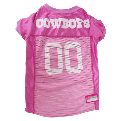 Dallas Cowboys Dog Jersey PINK-DOG-Pets First-LARGE-Pets Go Here