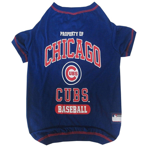 Chicago Cubs Dog Shirt-DOG-Pets First-X-SMALL-Pets Go Here