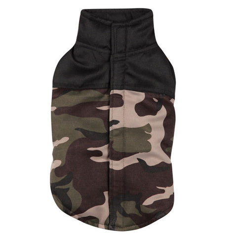 Casual Canine Camo Dog Coat Vest