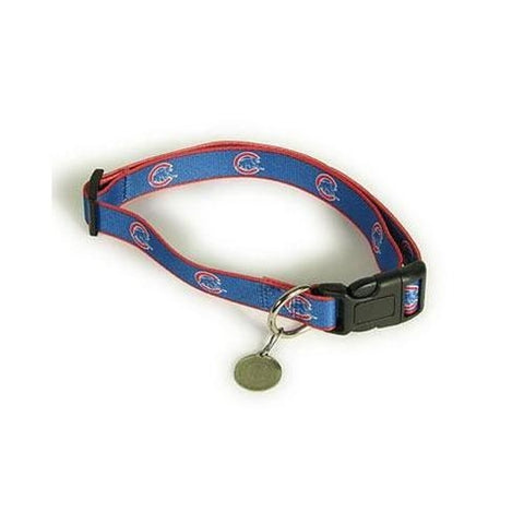 MLB Chicago Cubs Dog Collar NYLON