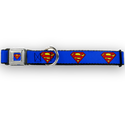 Buckle Down Superman Dog Collar