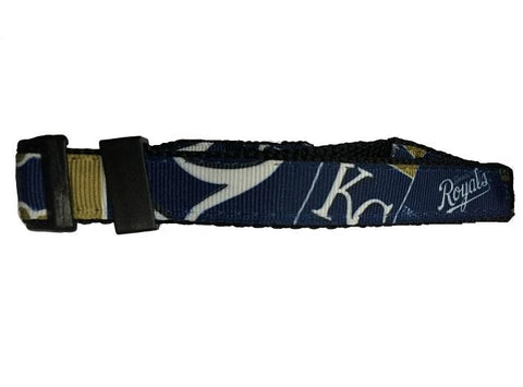 MLB Kansas City Royals Dog Collar Embroidered S