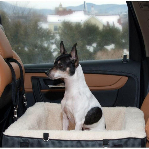 Pet Gear Deluxe Booster Car Seat Bed Medium-DOG-Pet Gear-Pets Go Here bed, booster, car, pet gear Pets Go Here, petsgohere