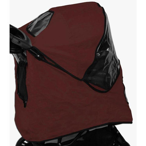 Pet Gear No-Zip Jogger Stroller Weather Cover-DOG-Pet Gear-BURGANDY-Pets Go Here