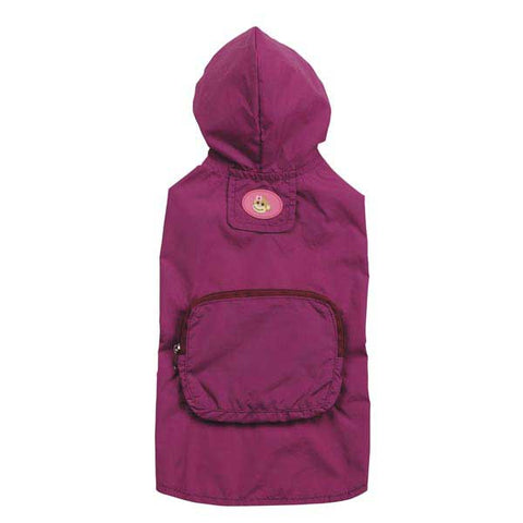ESC Monkey Business Stowaway Dog Jacket TIFF RASPBERRY-DOG-East Side Collection-MEDIUM-Pets Go Here east side collection, jacket, l, m, pink, s, xl, xs Pets Go Here, petsgohere