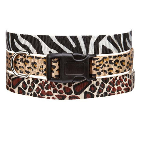 ESC Animal Print Dog Collar Cheetah 6-10""