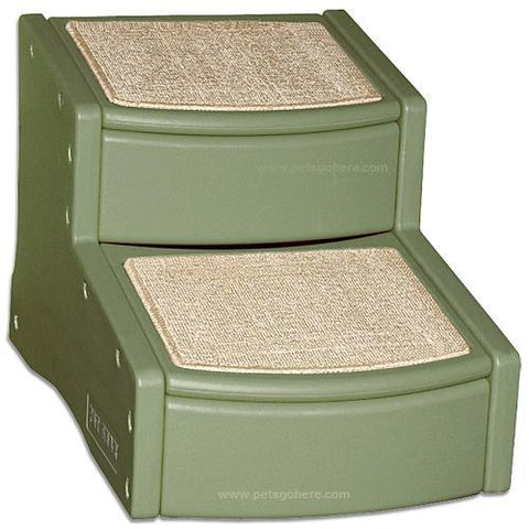 Pet Gear Easy Step II Carpeted Pet Stairs-DOG-Pet Gear-SAGE-Pets Go Here pet gear, stairs, test Pets Go Here, petsgohere