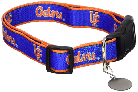 NCAA Florida Gators Dog Collar mlb, nba, ncaa, nylon, pet goods, sports, sports collar Pets Go Here, petsgohere