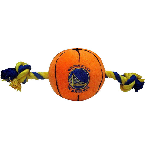 Golden State Warriors Plush Dog Toy-DOG-Pets First-Pets Go Here ncaa, pets first, plush, sports, sports toys Pets Go Here, petsgohere