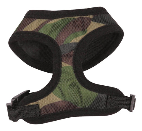 Casual Canine Camouflage Dog Harness PINK or GREEN CAMO Pets Go Here, petsgohere