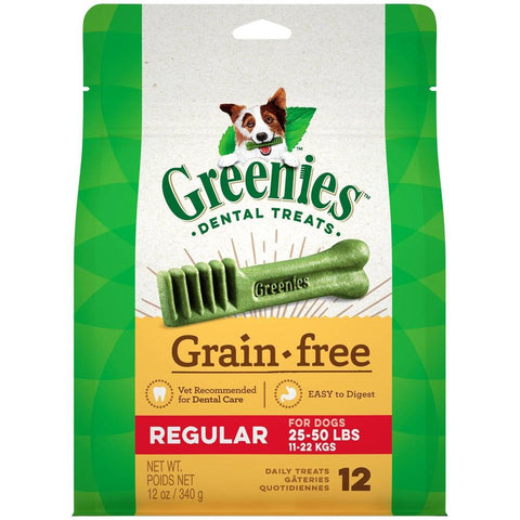 Greenies Grain Free Natural Dental Dog Treats