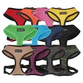 Puppia Soft Mesh Dog Harnesses