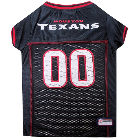 NFL Houston Texans Dog Jersey RED TRIM doggienation, ds, hunter, l, m, nfl, s, test, xl, xs Pets Go Here, petsgohere