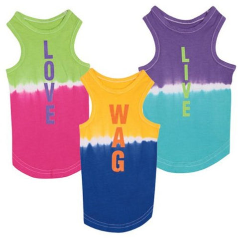 Zack and Zoey Inspirational Dog Tank Top Shirt WAG l, m, m/l, s, s/m, shirt, tank, xl, xs, zack & zoey Pets Go Here, petsgohere