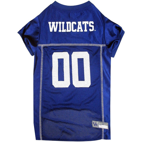 Kentucky Wildcats Dog Jersey-CAT-Pets First-LARGE-Pets Go Here hunter, l, m, ncaa, ncaa jersey, s, test, xl, xs Pets Go Here, petsgohere