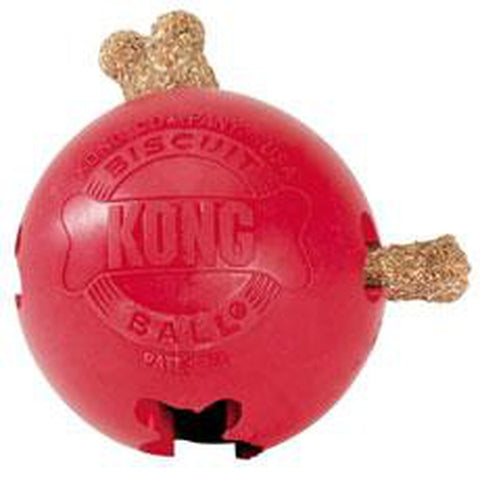 Kong Biscuit Balls-DOG-Kong-Pets Go Here ball, chew, chew toy, chew toys, dog, dog toy, interactive, kong, pet toy, rubber, toy Pets Go Here, petsgohere