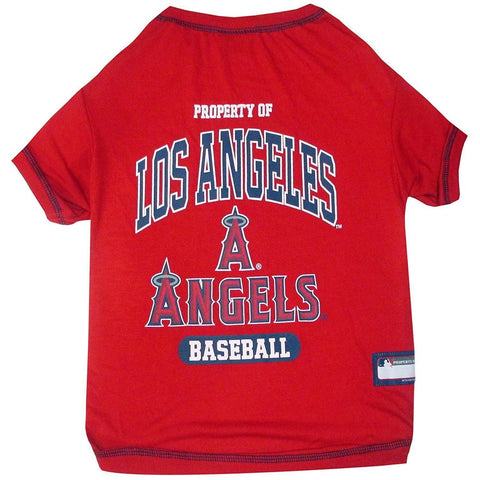 Los Angeles Angels Dog Shirt-DOG-Pets First-X-SMALL-Pets Go Here l, m, mlb, pets first, s, sports shirt, xl, xs Pets Go Here, petsgohere