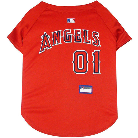 Los Angeles Angels Dog Jersey-DOG-Pets First-X-SMALL-Pets Go Here jersey, l, m, mlb, mlb jersey, patch, pets first, s, sports, sports jersey, xl, xs Pets Go Here, petsgohere