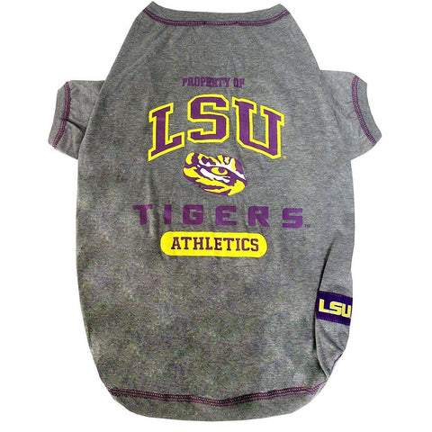 LSU Tigers Dog Shirt-DOG-Pets First-LARGE-Pets Go Here l, m, ncaa, pets first, s, sports shirt, test, xl, xs Pets Go Here, petsgohere