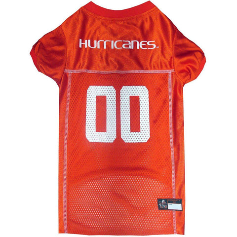 Miami Hurricanes Dog Jersey-DOG-Pets First-X-SMALL-Pets Go Here doggienation, ds, jersey, l, m, ncaa, ncaa jersey, pets first, s, sports, sports jersey, xl, xs Pets Go Here, petsgohere