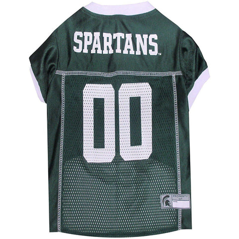 Michigan State Dog Jersey-DOG-Pets First-X-SMALL-Pets Go Here doggienation, ds, hunter, jersey, l, m, ncaa, ncaa jersey, s, spartans, sports, sports jersey, xl, xs Pets Go Here, petsgohere
