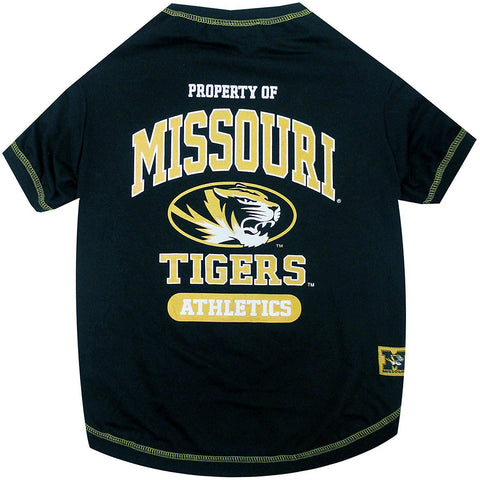 Missouri Tigers Dog Shirt-DOG-Pets First-LARGE-Pets Go Here