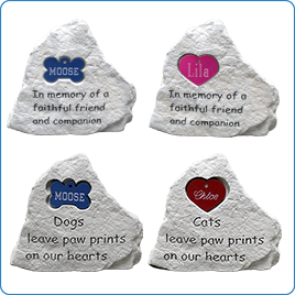 Pet Memorial Stones cat, cat tag, dog, dog tag, memorial, small pet, tag Pets Go Here, petsgohere