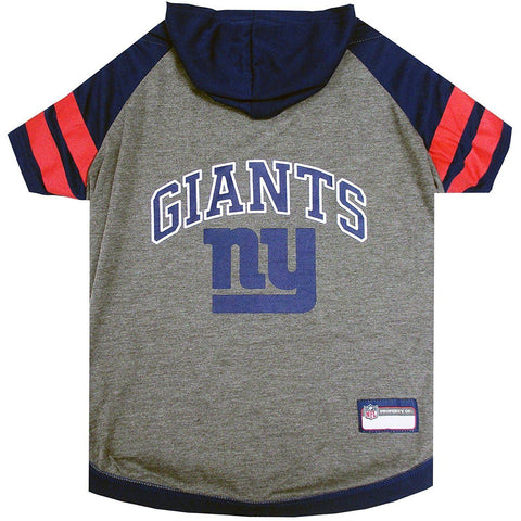 New York Giants Dog Hoodie Shirt-DOG-Pets First-LARGE-Pets Go Here l, m, nfl, pets first, s, sports, sports shirt, test, xl, xs Pets Go Here, petsgohere