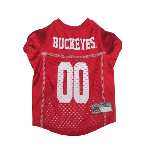 Ohio State Dog Jersey-DOG-Pets First-X-SMALL-Pets Go Here doggienation, ds, jersey, l, m, ncaa, ncaa jersey, pets first, red, s, sports, sports jersey, xl, xs Pets Go Here, petsgohere