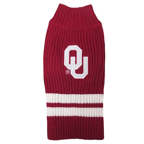 Oklahoma Sooners Dog Sweater-DOG-Pets First-LARGE-Pets Go Here