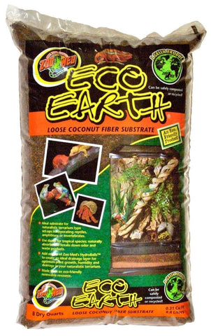 Zoo Med Eco Earth Loose Coconut Fiber Substrate 24 Qt