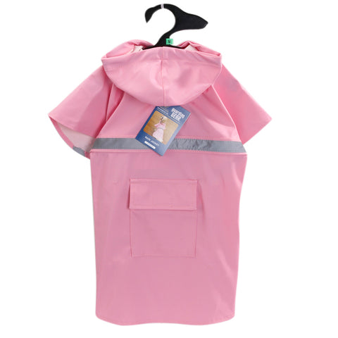 Guardian Gear Dog Raincoat Jacket w/ Reflective Stripe LIGHT PINK coat, guardian gear, jacket, l, m, pink, rain, s, test, xl, xs, yellow Pets Go Here, petsgohere