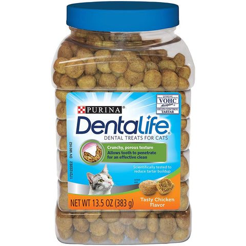 Purina DentaLife Dental Cat Treats Chicken