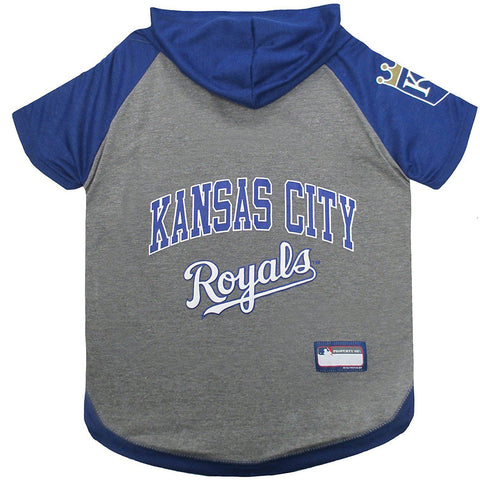Kansas City Royals Dog Hoodie Shirt-DOG-Pets First-LARGE-Pets Go Here