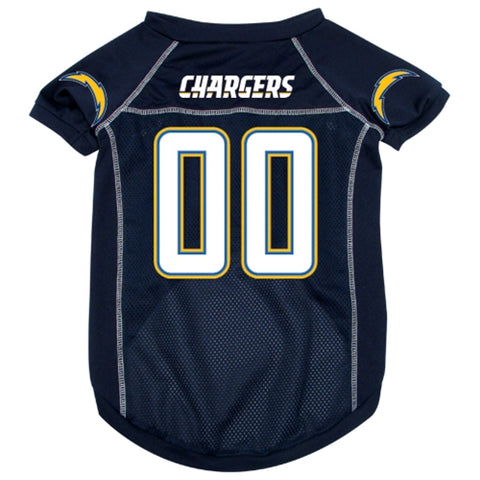 NFL San Diego Chargers Dog Jersey jersey, nfl, sports, sports jersey, xl Pets Go Here, petsgohere