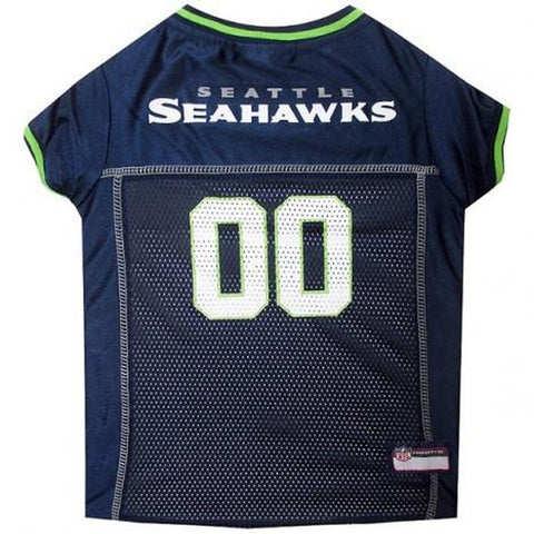 Seattle Seahawks Dog Jersey 2-DOG-Pets First-SMALL-Pets Go Here