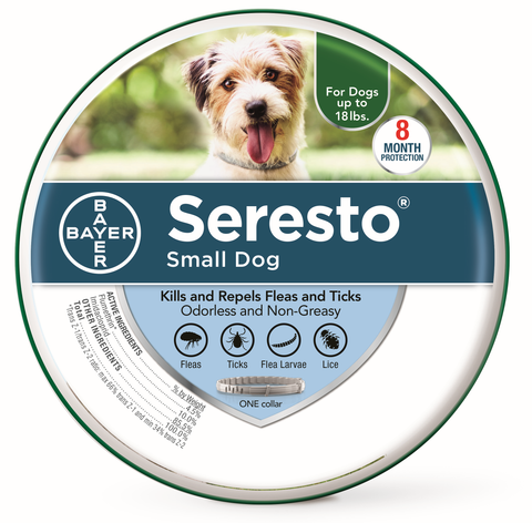 Seresto Flea and Tick Collars Cat & Dog S Dog