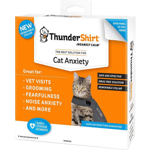 ThunderShirt for Cats anxiety, calming, cat, first aid, health, pet meds, shirt, supplement, thundershirt Pets Go Here, petsgohere