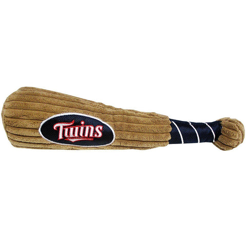 Minnesota Twins Plush Baseball Bat-DOG-Pets First-Pets Go Here mlb, pets first, plush, toy Pets Go Here, petsgohere