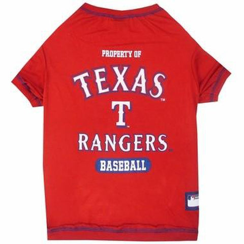 Texas Rangers Dog Shirt-DOG-Pets First-X-SMALL-Pets Go Here