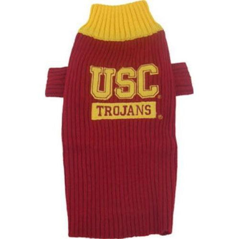 USC Trojans Dog Sweater-DOG-Pets First-LARGE-Pets Go Here l, m, ncaa, pets first, s, xl, xs Pets Go Here, petsgohere