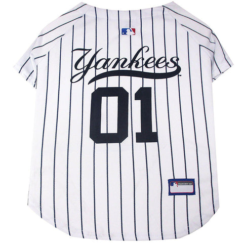 New York Yankees Dog Jersey-DOG-Pets First-LARGE-Pets Go Here