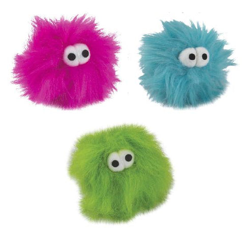 Zanies Critters Fuzzy Fur Balls 5 Balls-DOG-Zanies-Pets Go Here cat, cat toy, dog toy, toy Pets Go Here, petsgohere