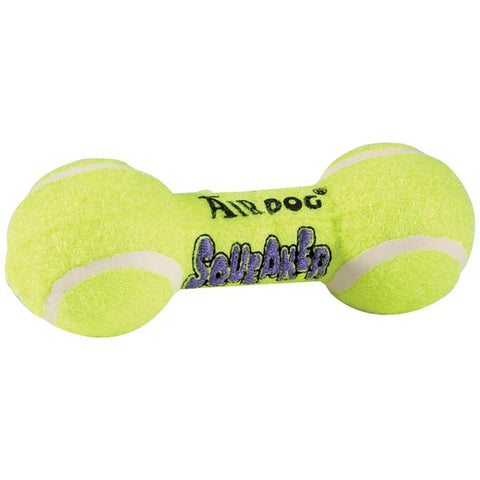 Kong Squeaker Dumbbells Dog Toy air kong, ball, dog toy, fetch, kong, squeaker Pets Go Here, petsgohere