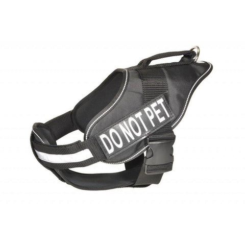 Dogline Alpha Multi Purpose / Service Dog Harness-DOG-Dogline-BLACK-36-46 In-Pets Go Here