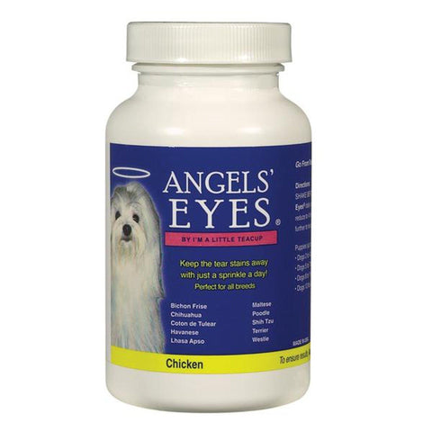 Angel Eyes Tear Stain Remover 45 g CHICKEN-DOG-Angel Eyes-Pets Go Here beef, chicken, eye, eye care, health, pet eye care, pet meds Pets Go Here, petsgohere