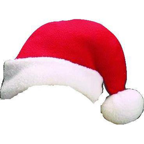 Aria Santa Dog Hat-DOG-Aria-Pets Go Here accessories, aria, bows, dog bows, dog clothes, fleece, hat, holiday, seasonal Pets Go Here, petsgohere