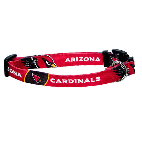 Arizona Cardinals Dog Collar-DOG-Hunter-SMALL-Pets Go Here