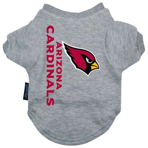 Arizona Cardinals Dog Shirt-DOG-Hunter-X-LARGE-Pets Go Here gray, hunter, l, m, nfl, s, sport shirt, sports, sports shirt, xl, xs Pets Go Here, petsgohere