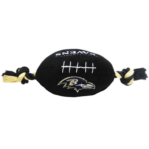 Baltimore Ravens Plush Dog Toy Football-DOG-Pets First-Pets Go Here